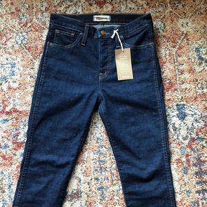 "Madewell 10"" High Rise skinny jeans, 26 Petite NWT"